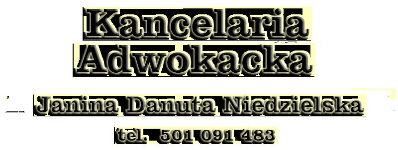 Kancelaria Adwokacka Janina Danuta NIEDZIELSKA